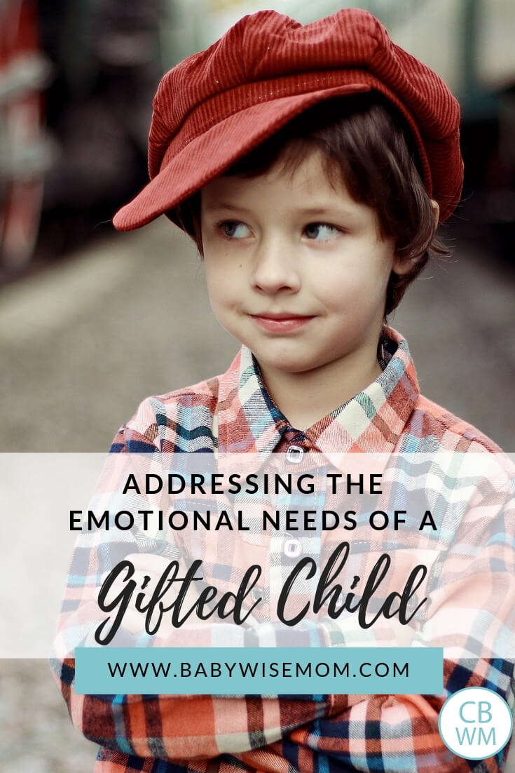 Addressing the Emotional Needs of a Gifted Child. Gifted children have intense emotions and need help learning to recognize and control emotions.