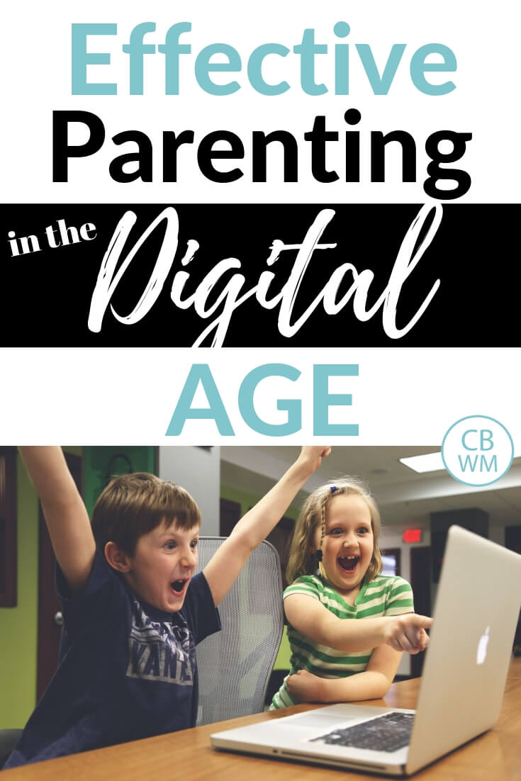 Effective Parenting In The Digital Age. Parenting advice for setting up safe boundaries for our digital kids. Technology for kids tips and tricks.