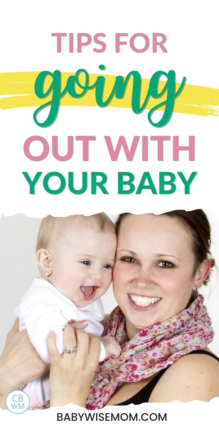 Tips for going out with your baby