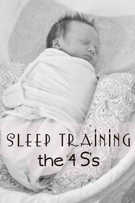 Sleep training the four S's | Sleep training | baby sleep | #sleeptraining