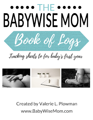 The Babywise Mom Book of Logs cover