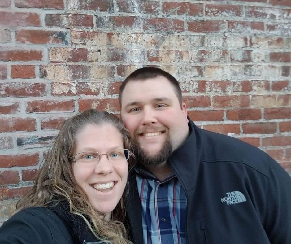 Julianna Martin and her husband