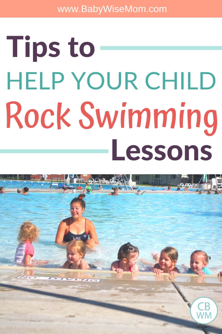 How to help your child rock swimming lessons with a picture of children in a pool