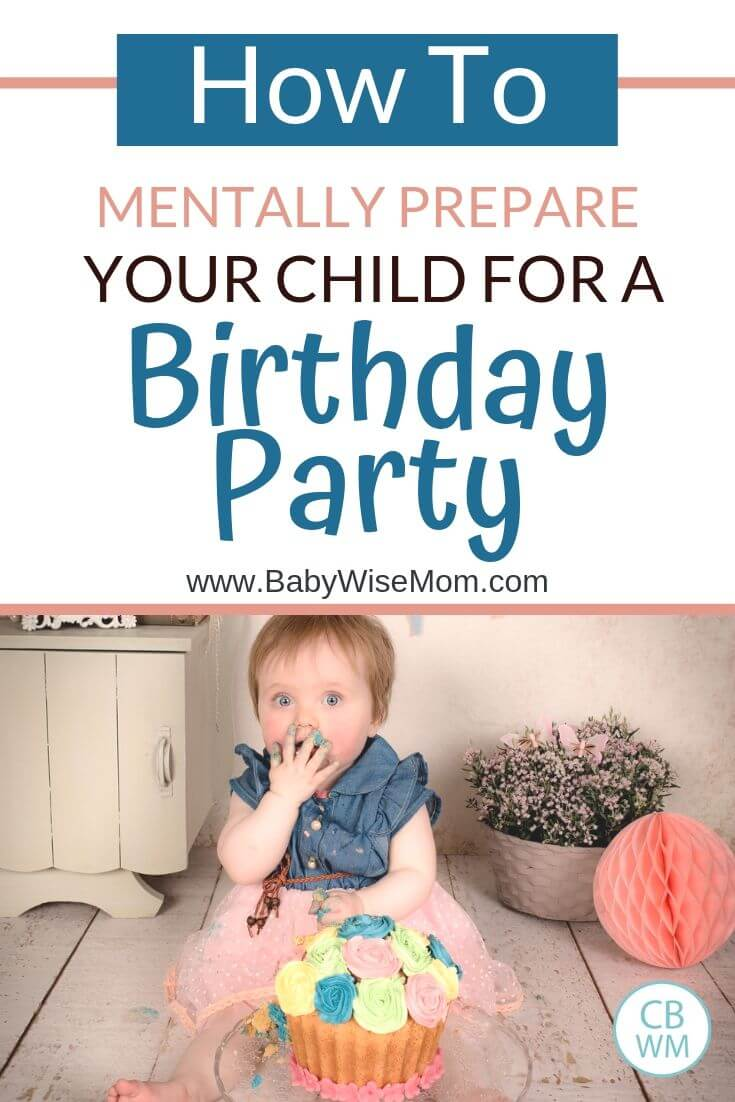 Pinnable image for a birthday party success post
