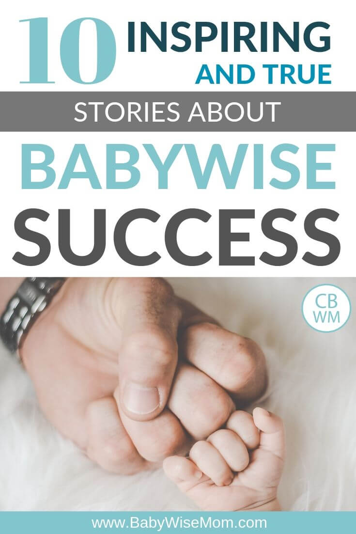 Inspiring Babywise Success Stories pinnable image