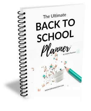 Back to School eBook Planner