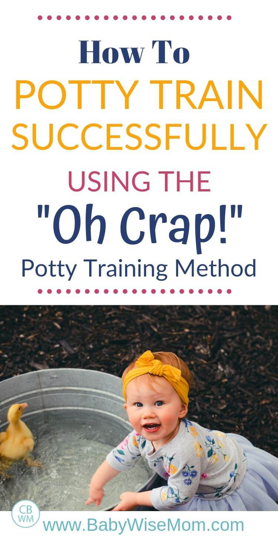 Potty Training Method pinnable image