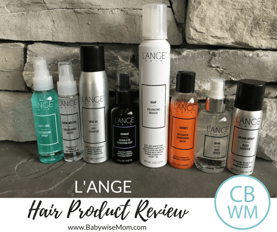L'ange Hair Product Review