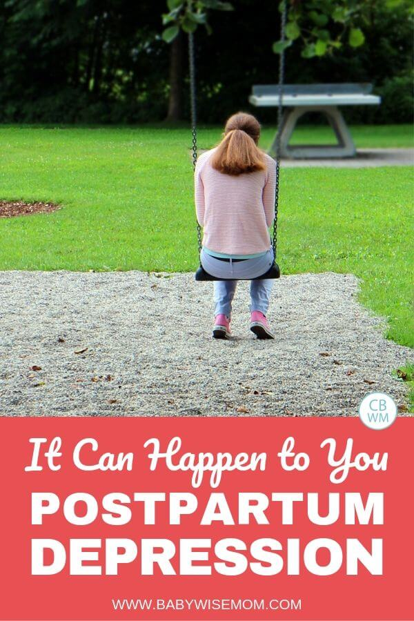 It Can Happen to You. Postpartum depression takes over your life and lies to you. Read all about one mom's experience with postpartum depression with four babies.