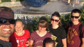 Family at Universal Studios Florida