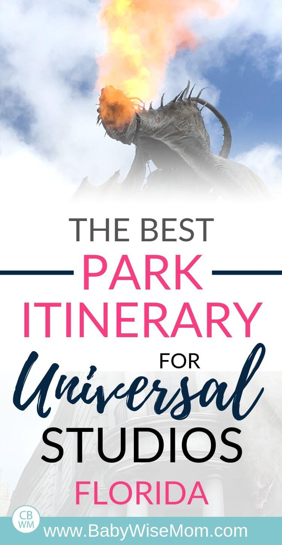 Universal Orlando Florida Travel Itinerary