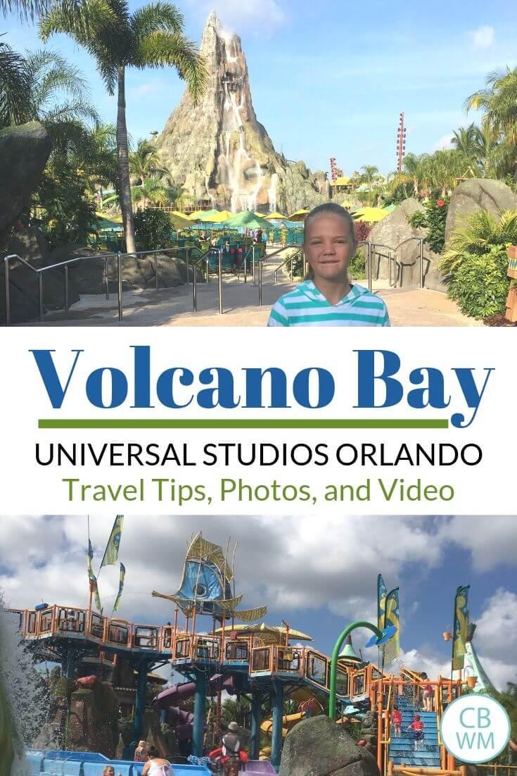 Volcano Bay Travel Tips Pin