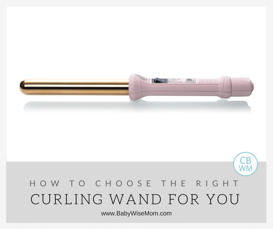 Review: How to Choose the Right L'ANGE Curling Wand For You hero image of curling iron.