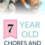 7 year old chores and responsibilities pinnable image