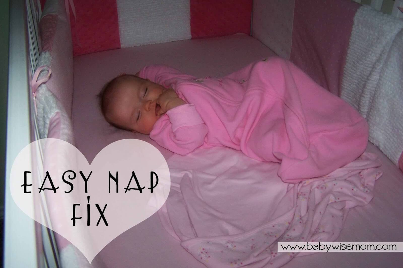 An Easy Short Nap Fix. Here is an easy way to get baby taking longer naps and fix those short naps.