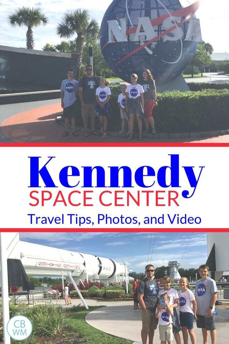 Kennedy Space Center Travel Tips Pinnable Image