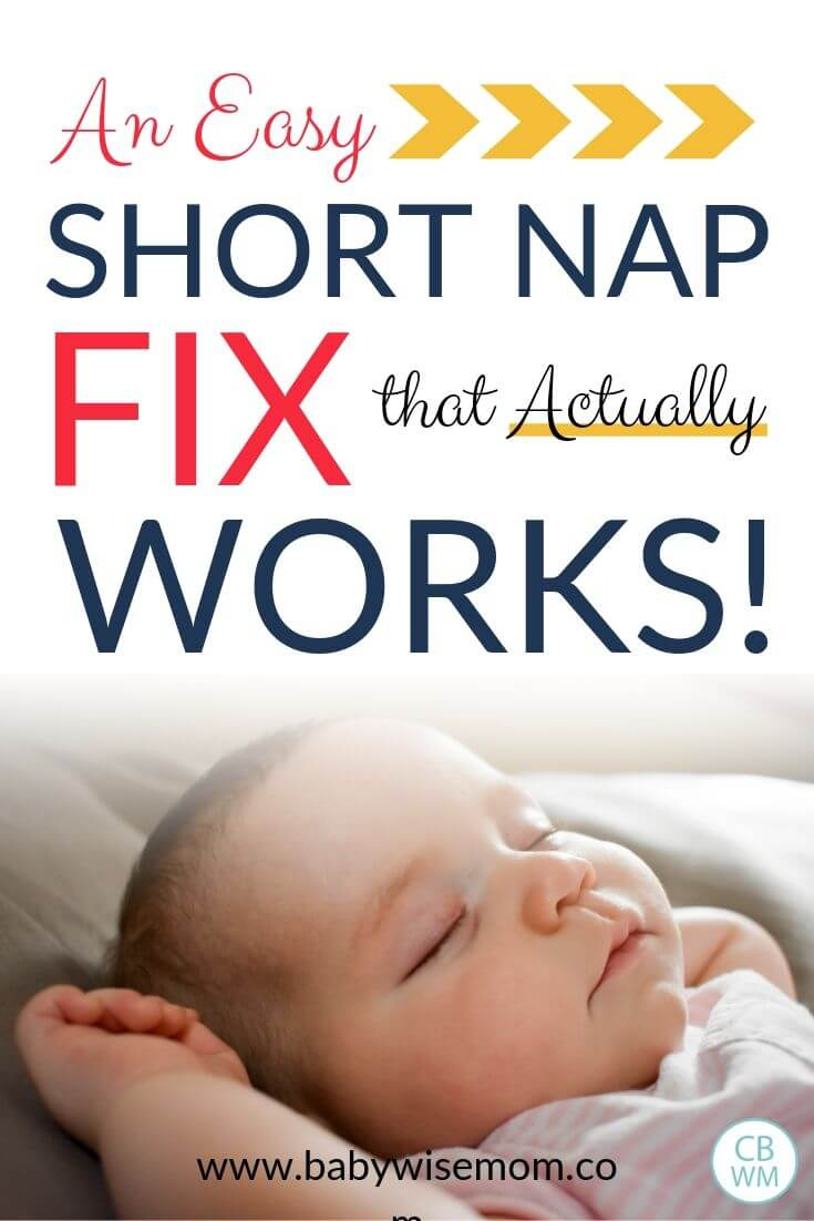 An Easy Short Nap Fix pinnable image