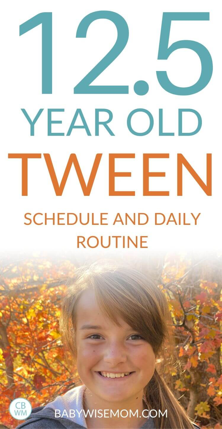 12.5 year old tween summary