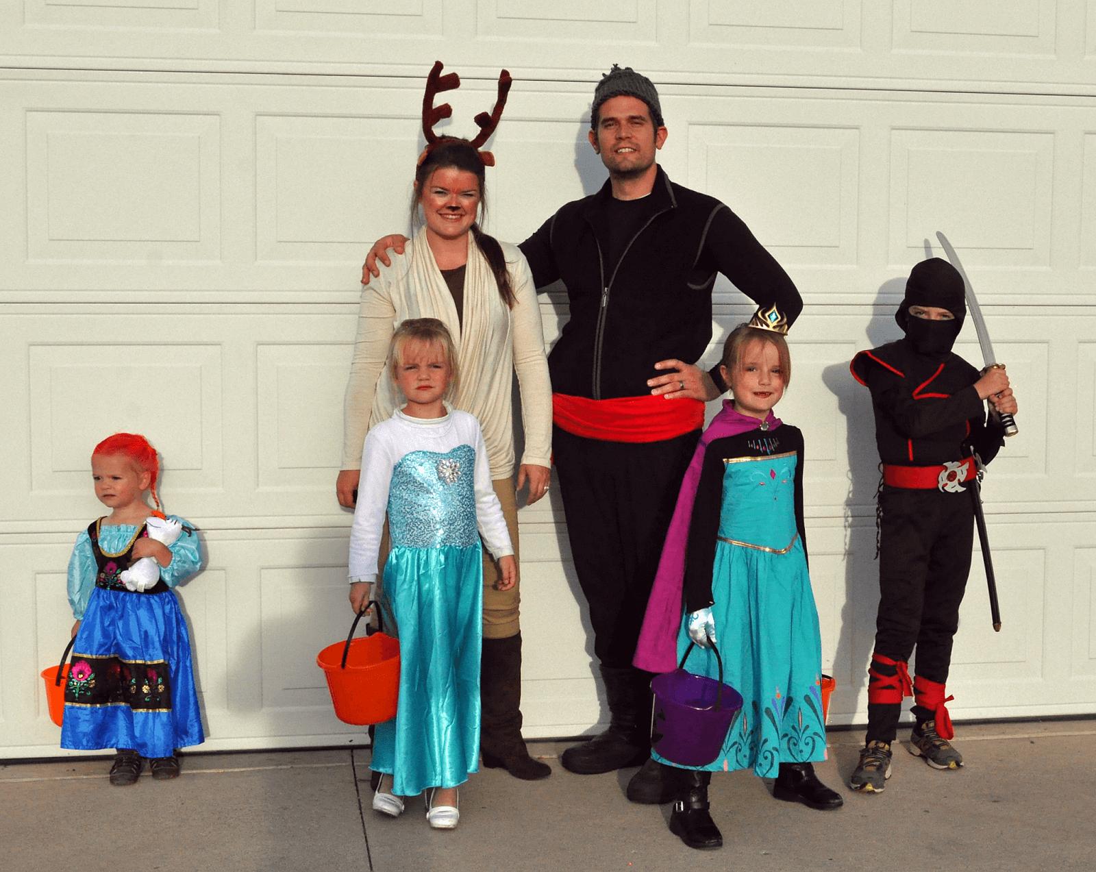 Frozen Theme family costume