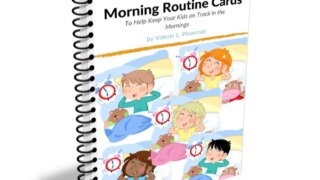 Morning Routine Cards Cover by Valerie Plowman