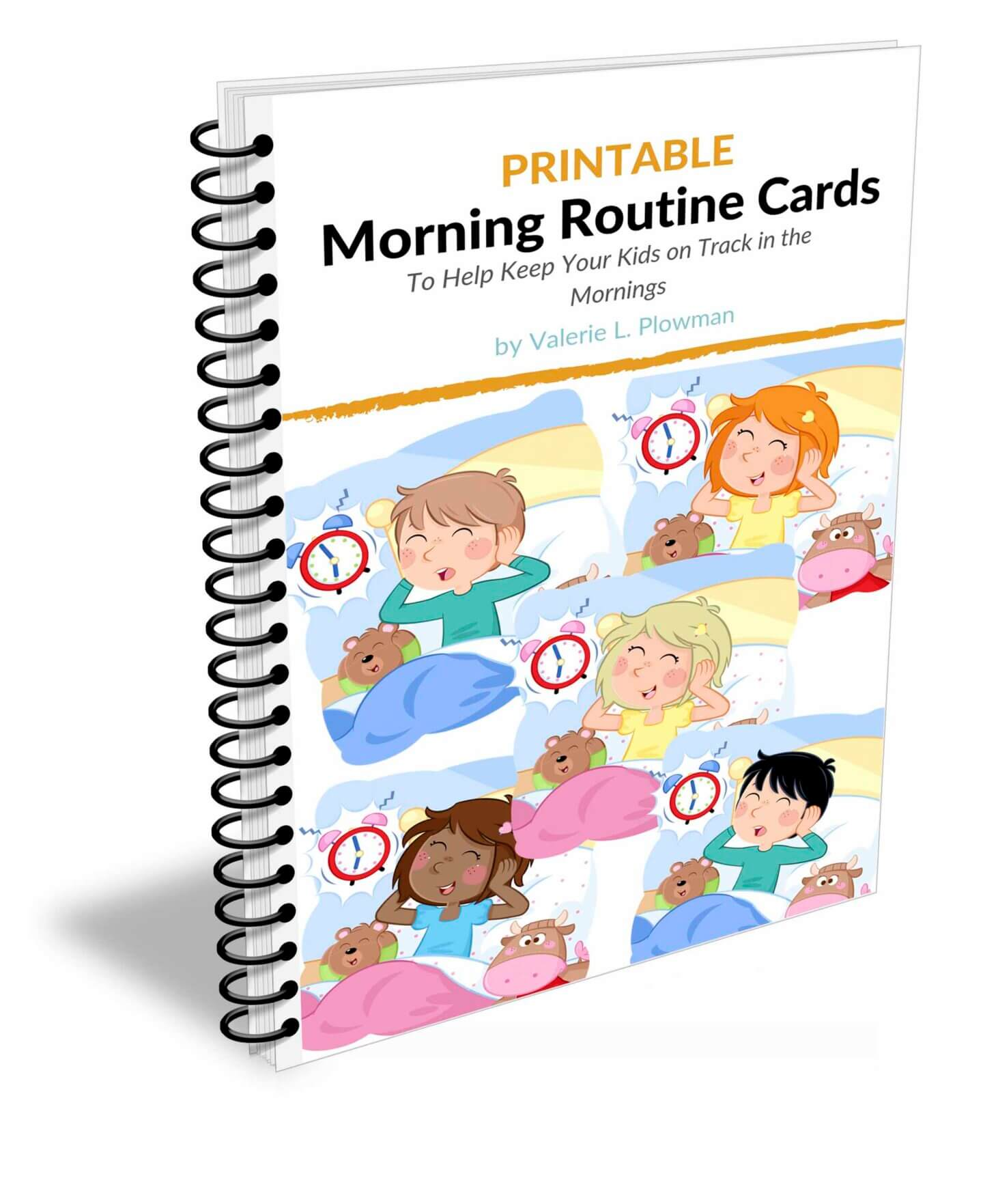 Printable Morning Routine Cards by Valerie Plowman