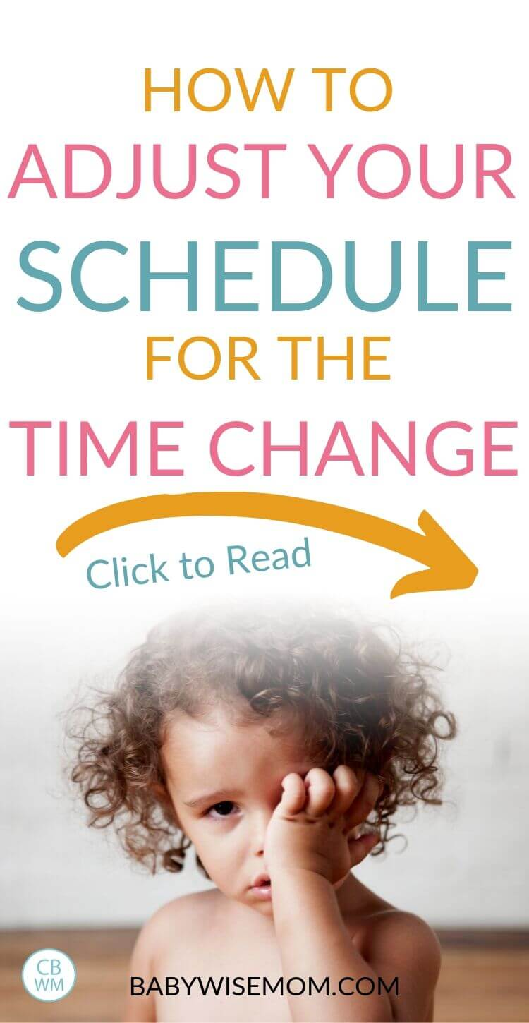 Adjust schedule for time change Pinnable Image
