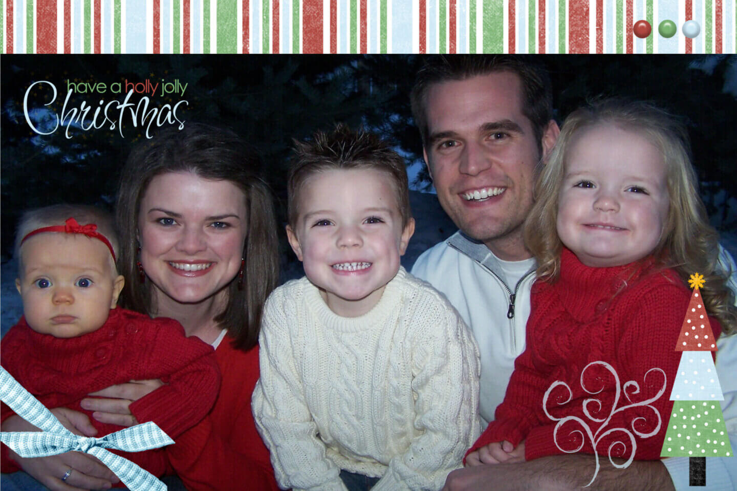 2009 Plowman Family Christmas Card
