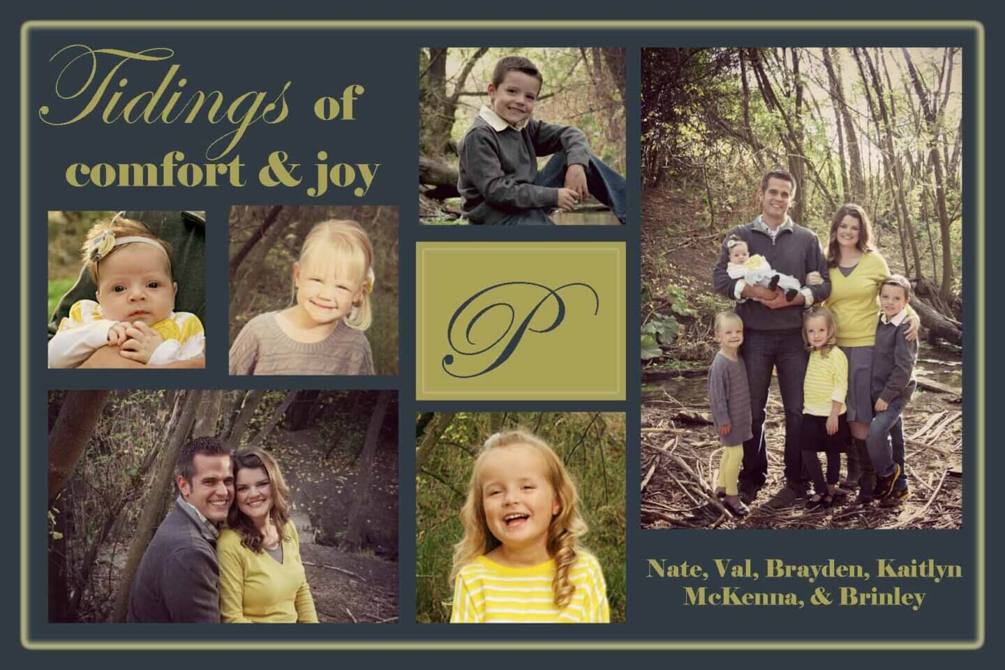 2012 Plowman Family Christmas Card
