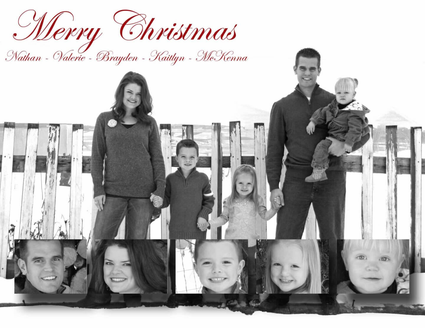 2010 Plowman Family Christmas Card