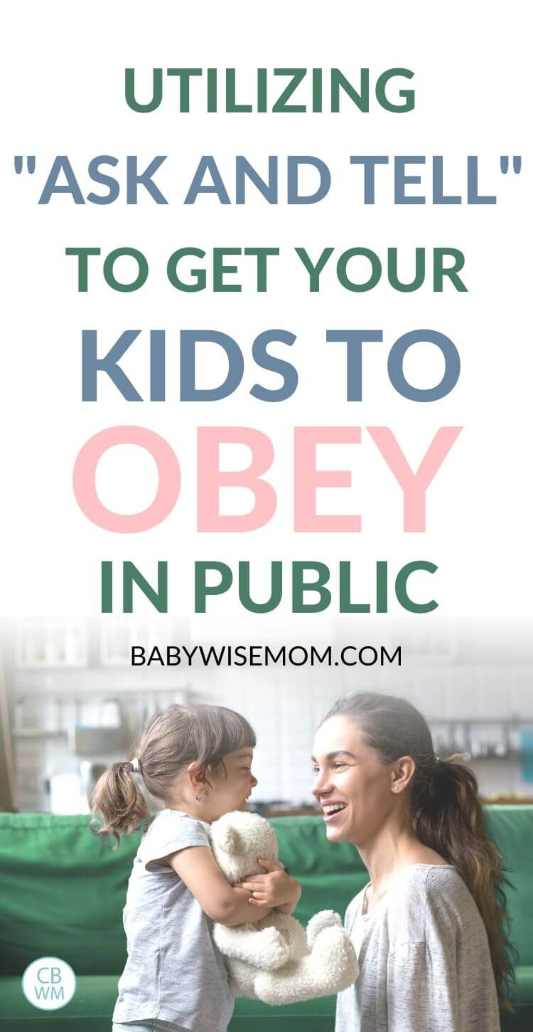 Get kids to obey in public pinnable image