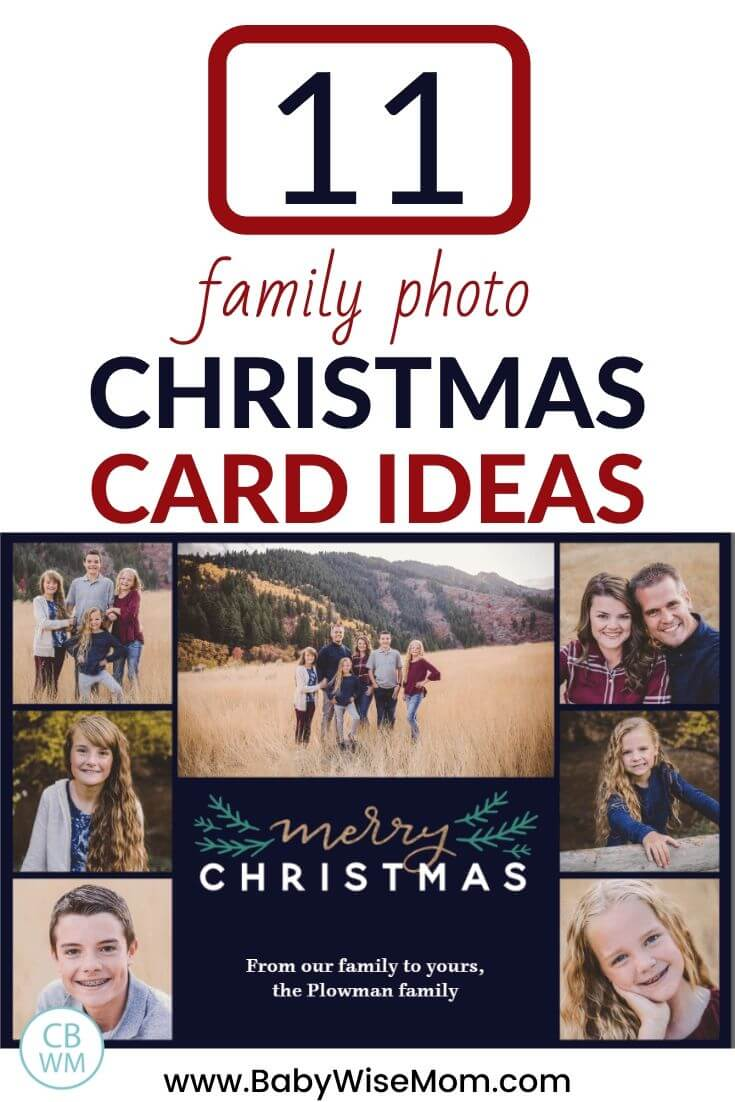 11 family photo Christmas Card ideas