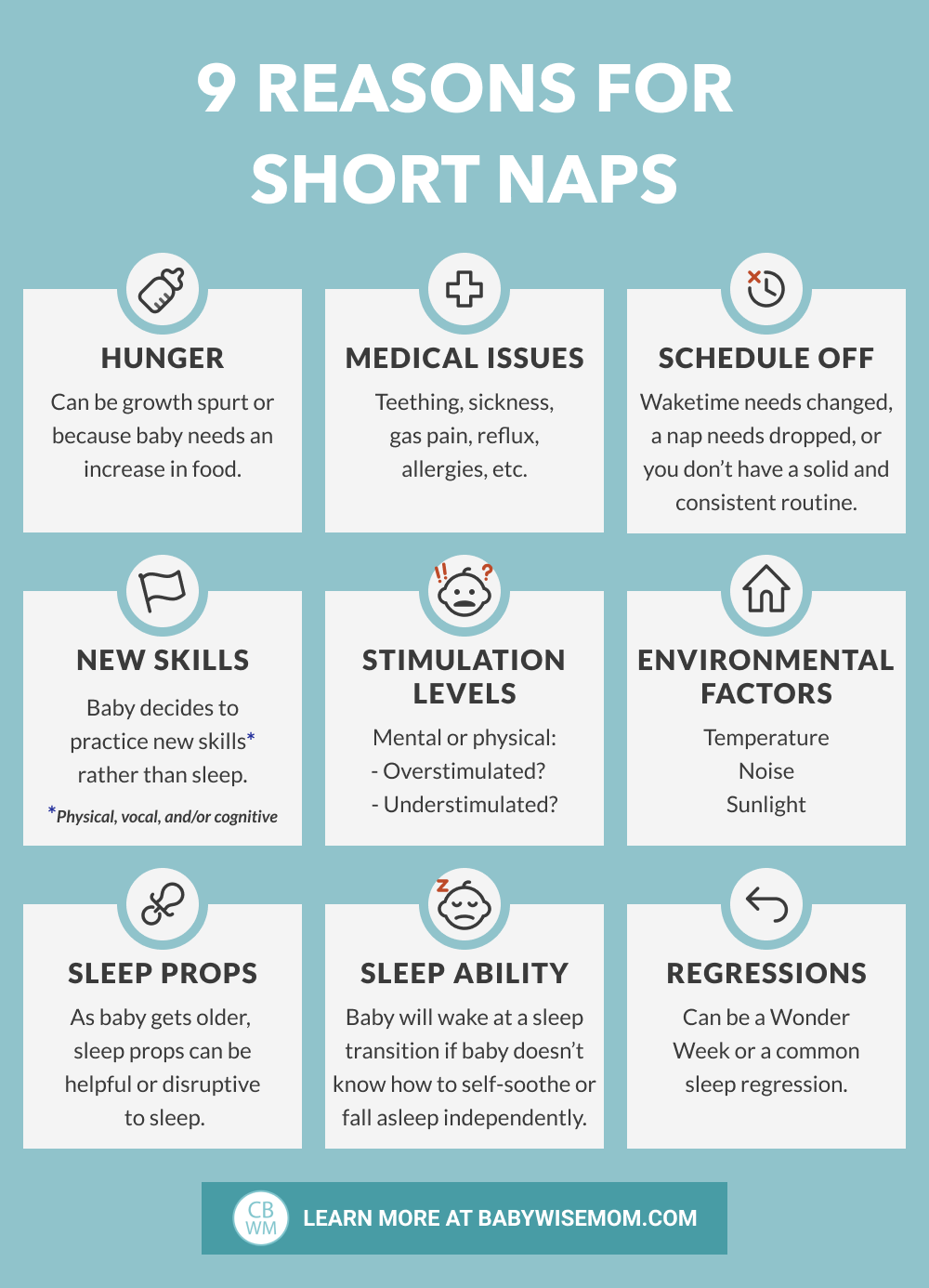 9 reasons for short naps