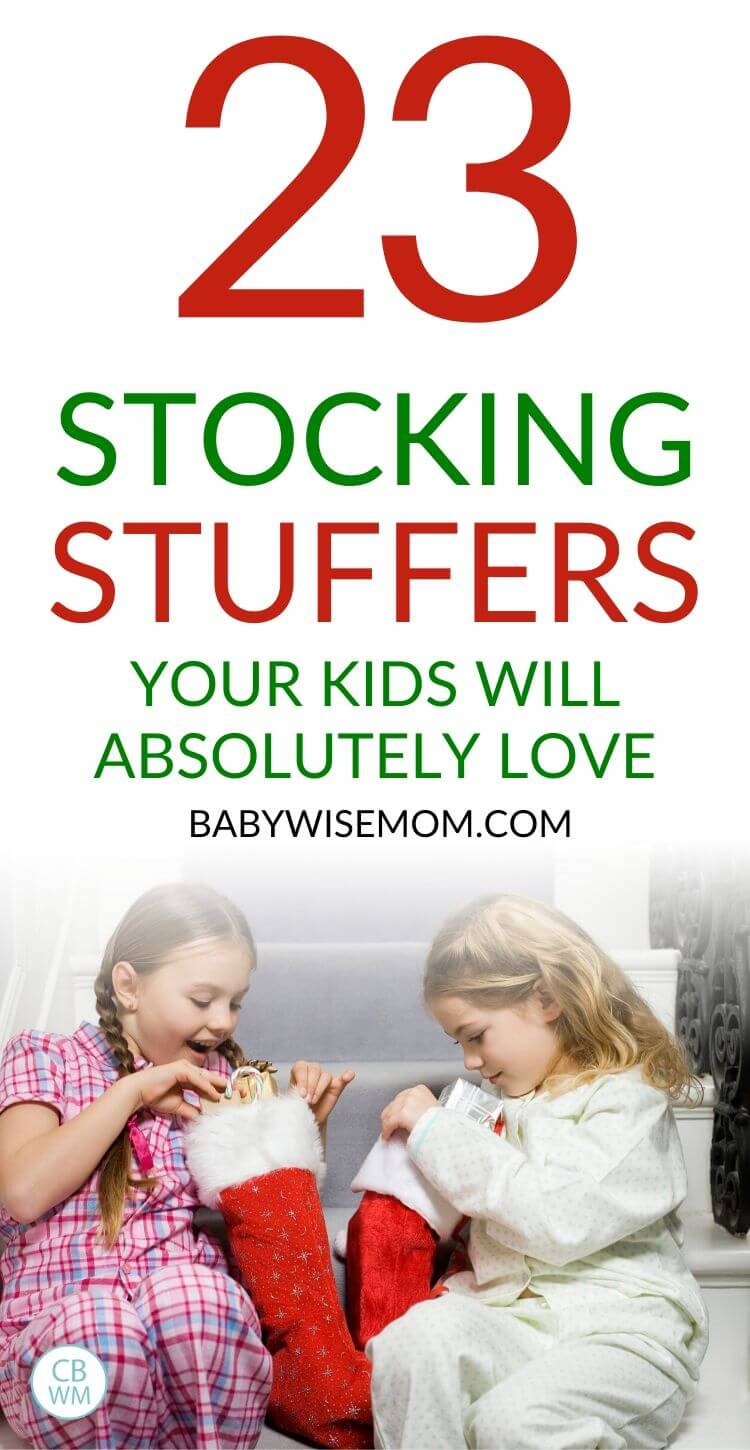 Stocking Stuffer Ideas for Kids Pinnable Image
