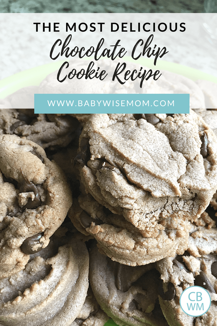 The Most Delicious Chocolate Chip Cookie Recipe. Chocolate chocolate chip cookies. Soft cookies kids love.