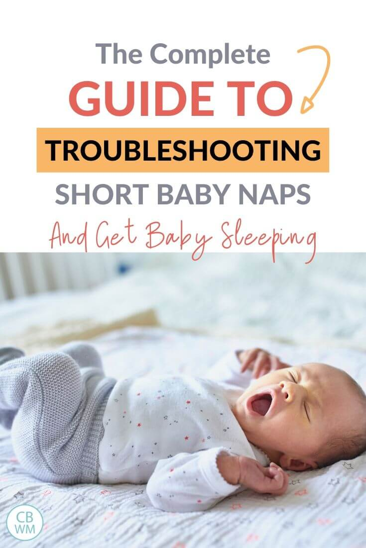 Short Baby Naps Pinnable Image