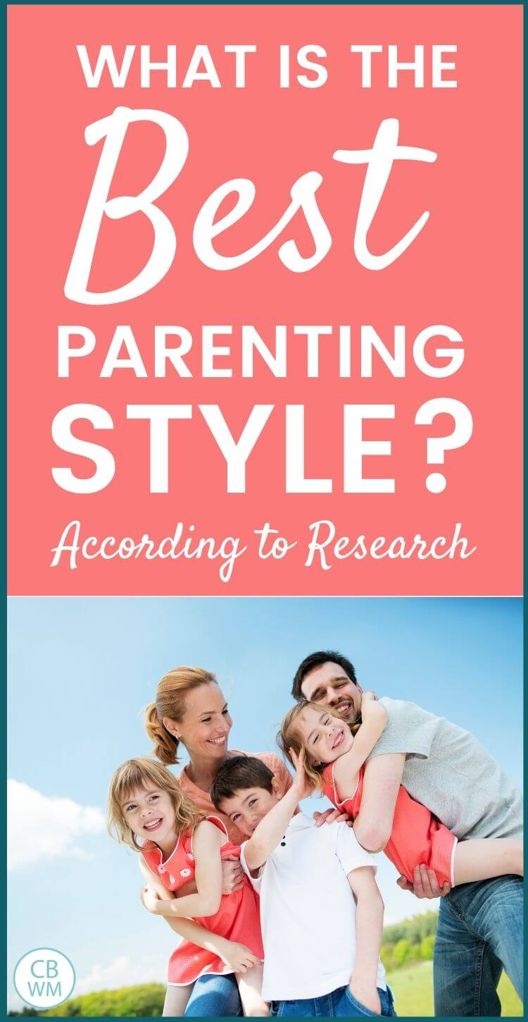 Best parenting style pinnable image