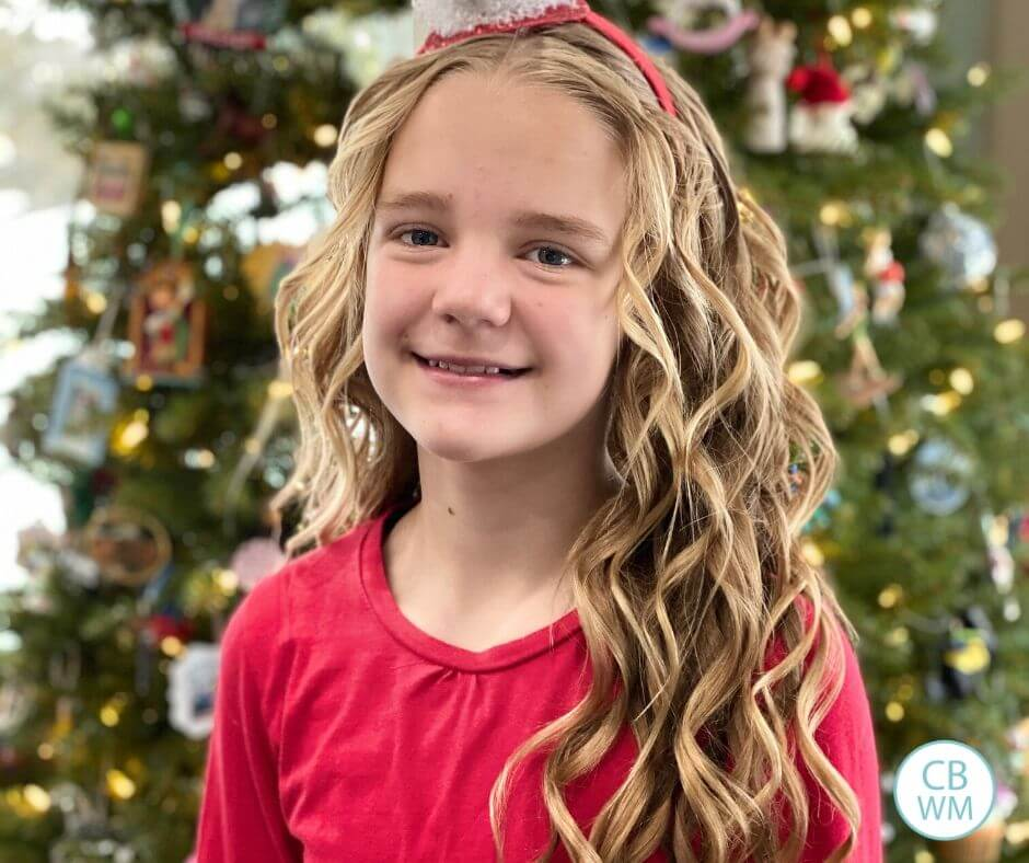 McKenna at 10.75 years old