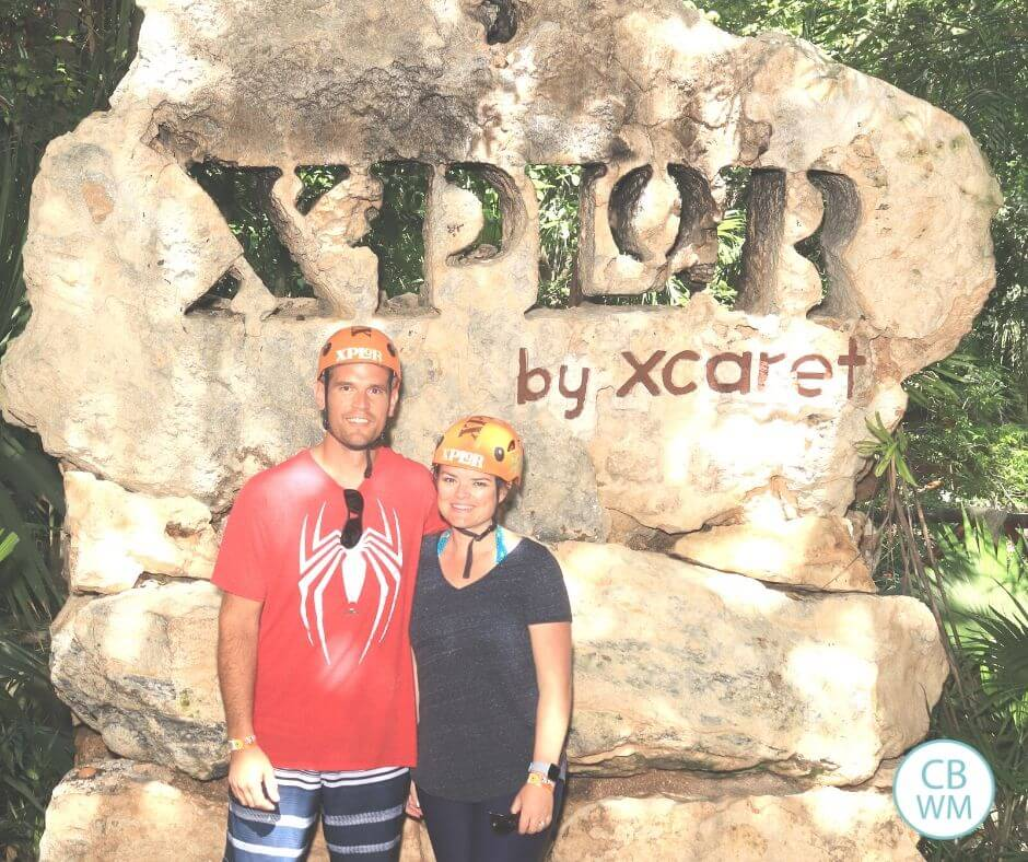 Xplor adventure park in Mexico.