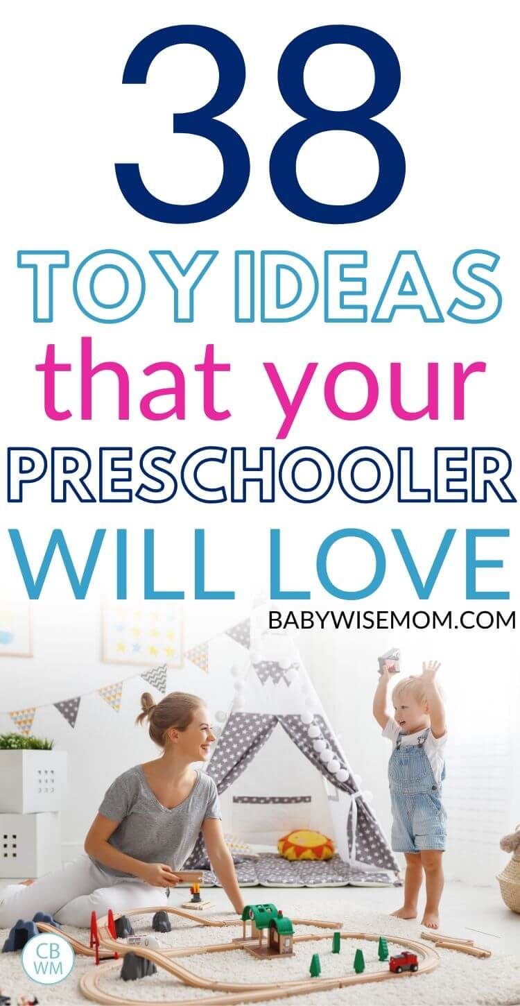 Toy ideas your preschooler will love