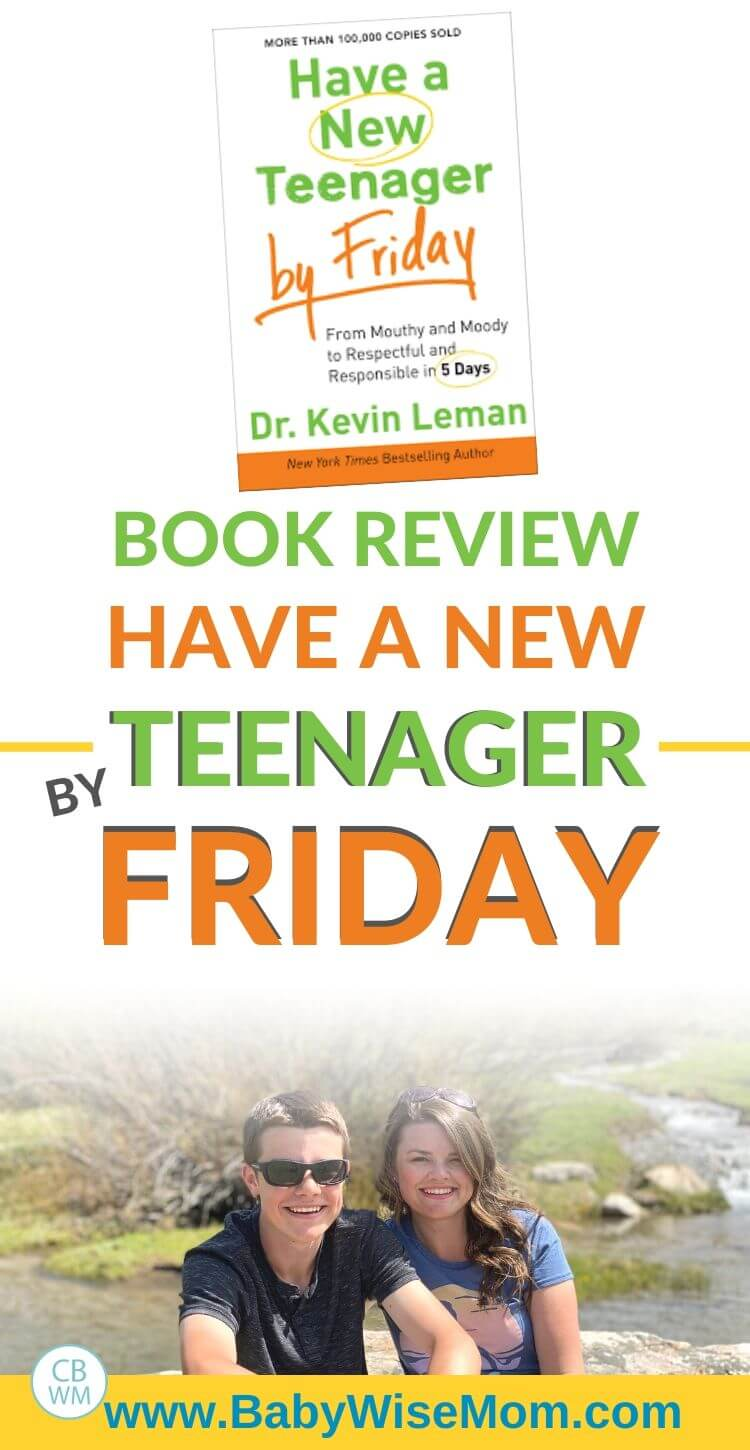 Book review: have a new teenager by Friday pinnable image