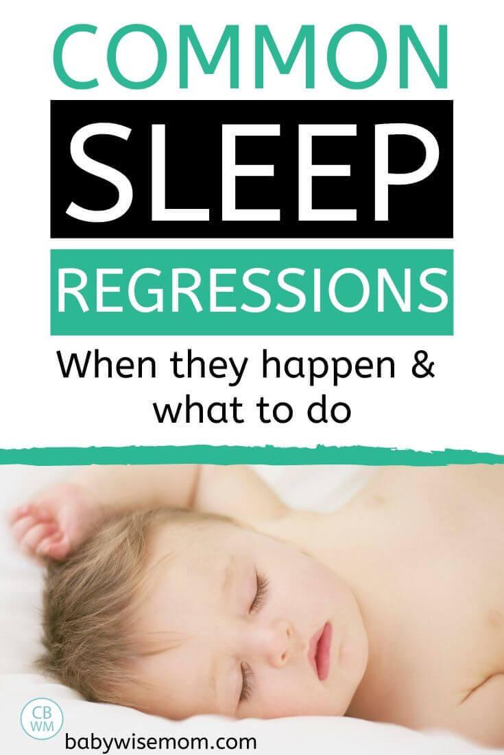 Common sleep regression pinnable image