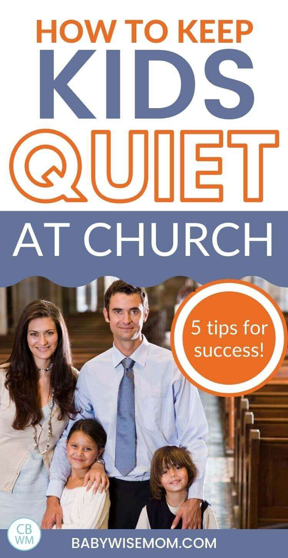 Keep kids quiet at church pinnable image
