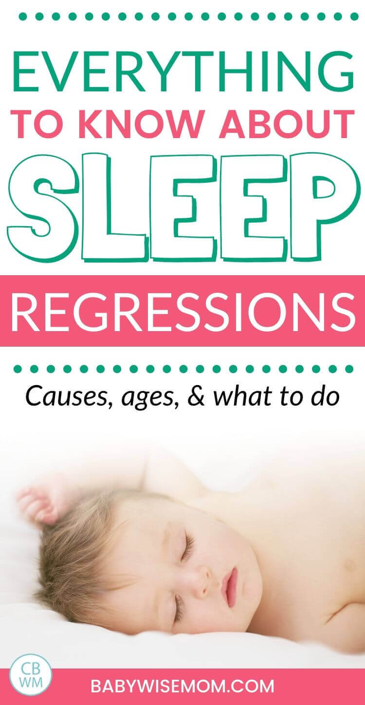 Everything to know about sleep regressions pinnable image