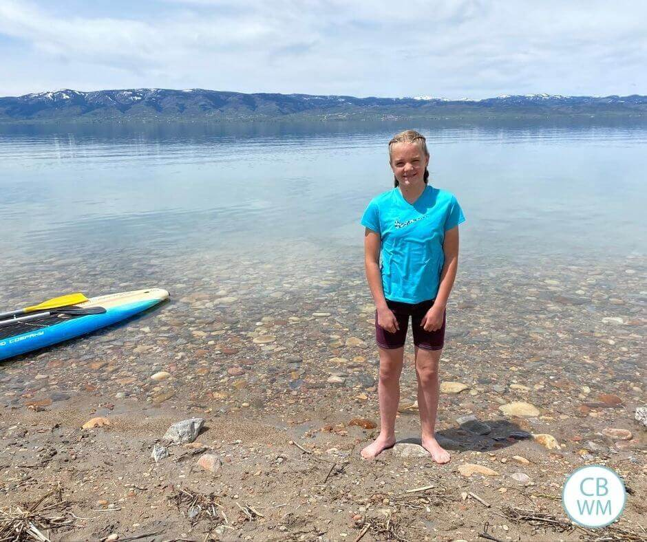 McKenna at Bear Lake
