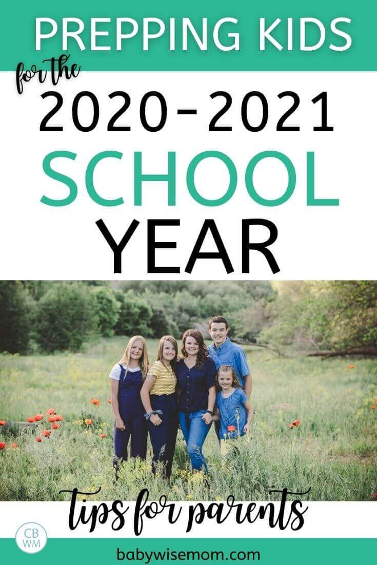 prep kids for 2020-2021 school year