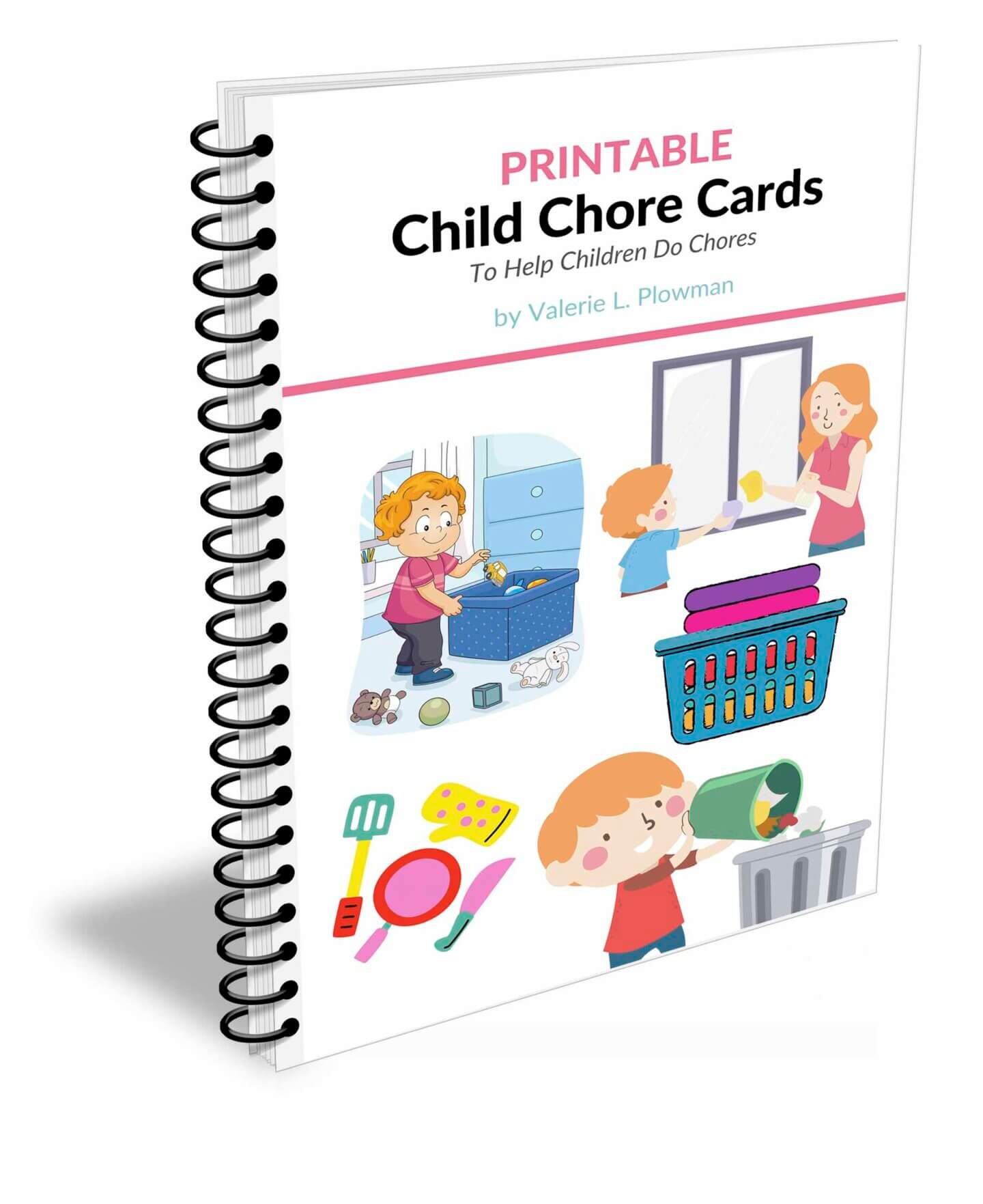 Chore Cards and Chore Chart for 5 year olds
