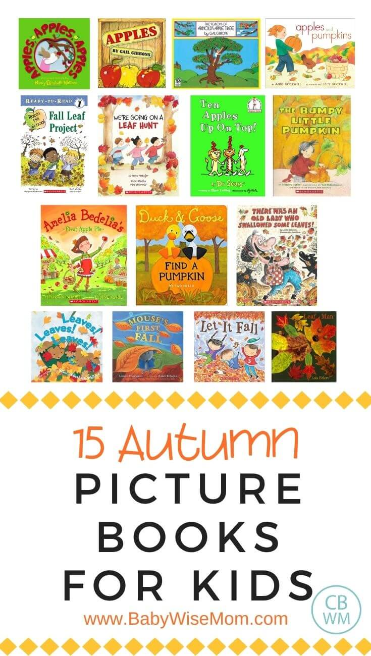 15 autumn books for kids