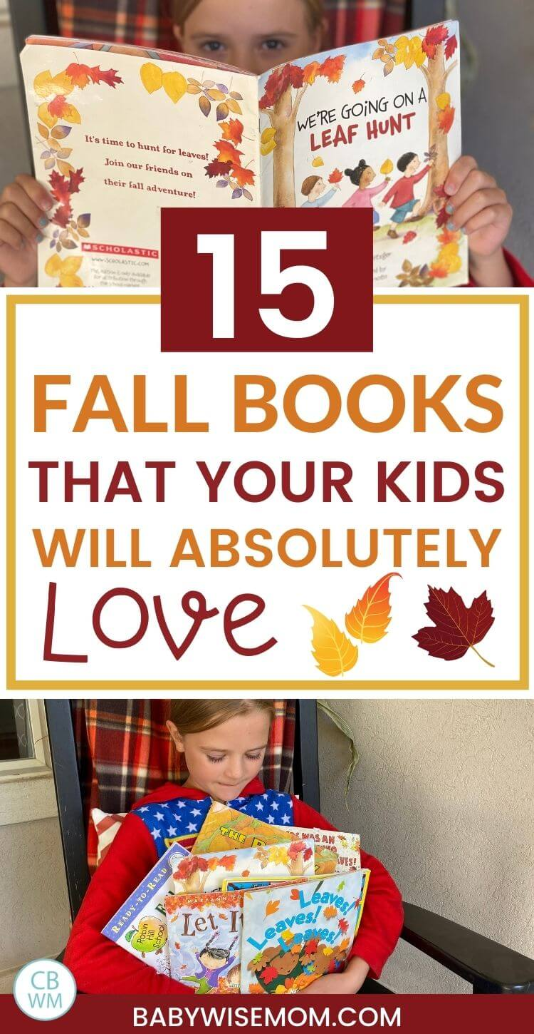 15 fall books for kids