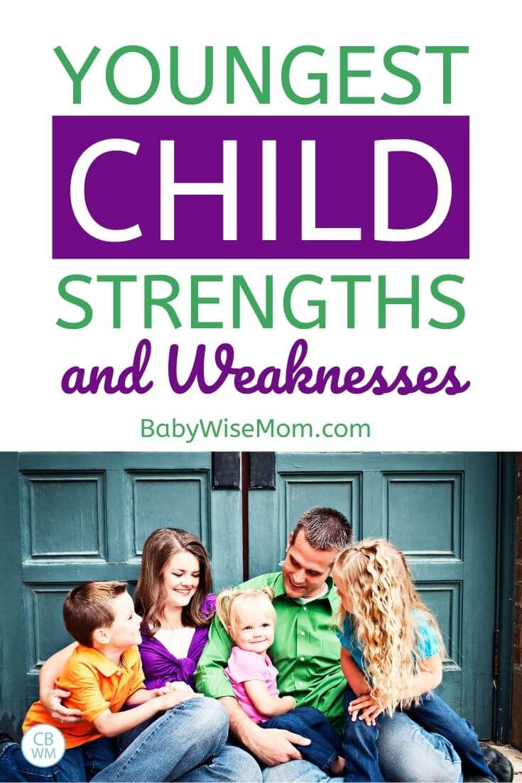 Youngest child strengths and weaknesses