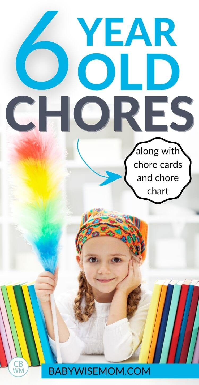 6 year old chore list